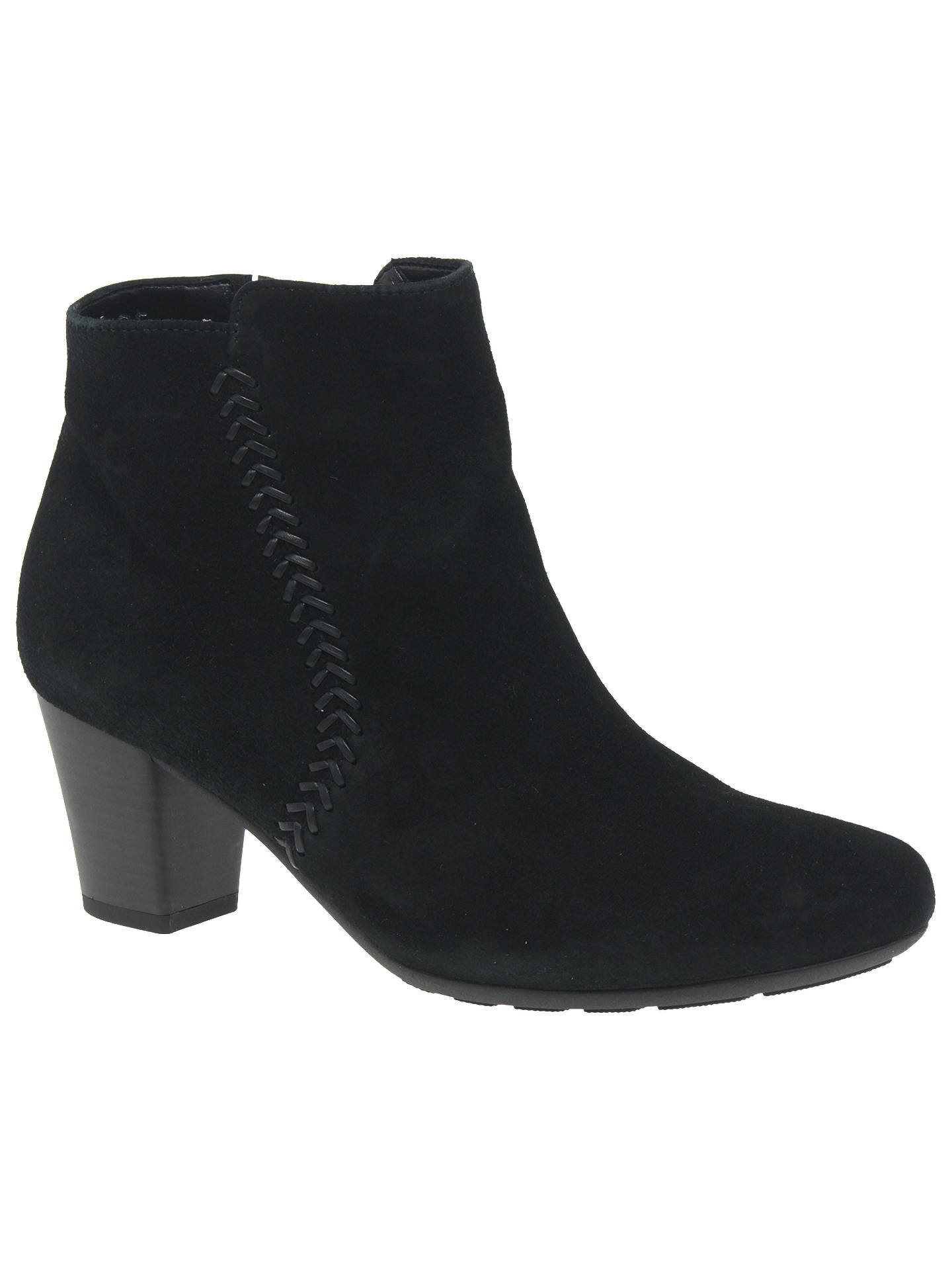 cheaper exceptional range of styles and colors the best Gabor Lydgate Extra Wide Fit Ankle Boots, Black at John ...