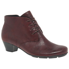 Buy Gabor Field Block Heeled Ankle Boots Online at johnlewis.com