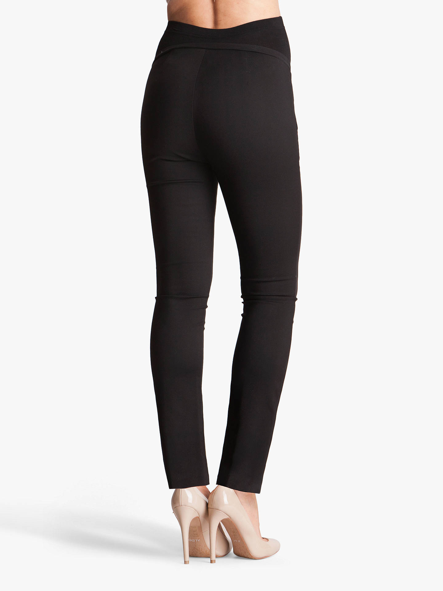 BuySéraphine Carrie Maternity Trousers, Black, 8 Online at johnlewis.com