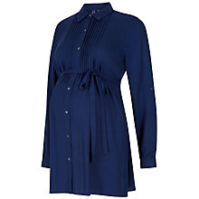 Buy Séraphine Lena Maternity Tie Shirt, Navy Online at johnlewis.com