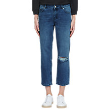 Buy Whistles Distressed Straight Jeans Online at johnlewis.com