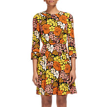 Buy Whistles Anjelica Tangerine Dream Dress, Multi Online at johnlewis.com