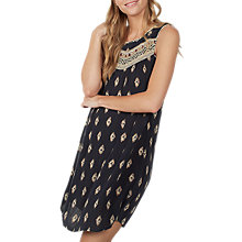 Buy Fat Face Abbie Savanna Geo Print Dress, Phantom Online at johnlewis.com