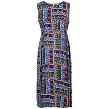 Buy Fat Face Connie Tribal Geo Dress, Multi Online at johnlewis.com