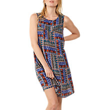 Buy Fat Face Abbie Tribal Geo Dress, Multi Online at johnlewis.com