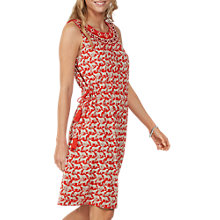 Buy Fat Face Roxy Jungle Cat Dress, Orange Online at johnlewis.com