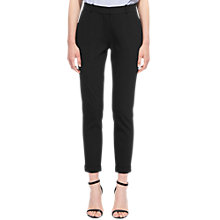 Buy Whistles Sadie Slim Leg Trouser, Black Online at johnlewis.com