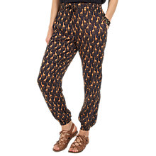 Buy Fat Face Giraffe Printed Trousers, Phantom Online at johnlewis.com