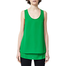 Buy Warehouse Woven Front Top Online at johnlewis.com