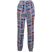 Buy Fat Face Tribal Geo Printed Trousers, Multi Online at johnlewis.com