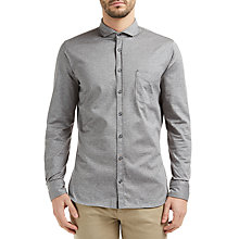 Buy BOSS Orange Cattitude Slim Fit Shirt, Light Pastel Grey Online at johnlewis.com