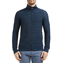 Buy BOSS Orange Ztate Zipped Sweatshirt Jacket, Dark Blue Online at johnlewis.com