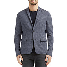 Buy BOSS Orange Westman Slim Blazer Jacket, Dark Blue Online at johnlewis.com