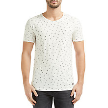 Buy BOSS Orange Toughts 1 T-Shirt, Natural Online at johnlewis.com