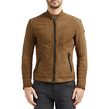 Buy BOSS Orange by HUGO BOSS Jondrix Jacket, Medium Beige Online at johnlewis.com