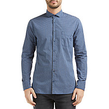 Buy BOSS Orange Geometric Print Slim Fit Shirt Online at johnlewis.com