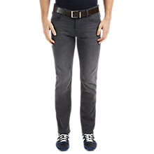 Buy BOSS Orange Super Stretch Orange63 Slim Jeans, Black Online at johnlewis.com