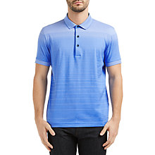 Buy BOSS Green C-Janis Gradient Stripe Polo Shirt Online at johnlewis.com