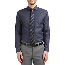 Buy HUGO by Hugo Boss C-Jason Slim Fit Cotton Shirt Online at johnlewis.com