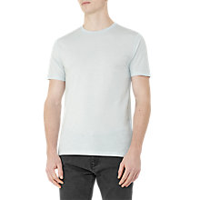 Buy Reiss Bless Crew Neck Marl T-Shirt, Mint Online at johnlewis.com