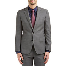 Buy HUGO by Hugo Boss C-Huge1 Hopsack Slim Fit Suit Jacket, Medium Grey Online at johnlewis.com