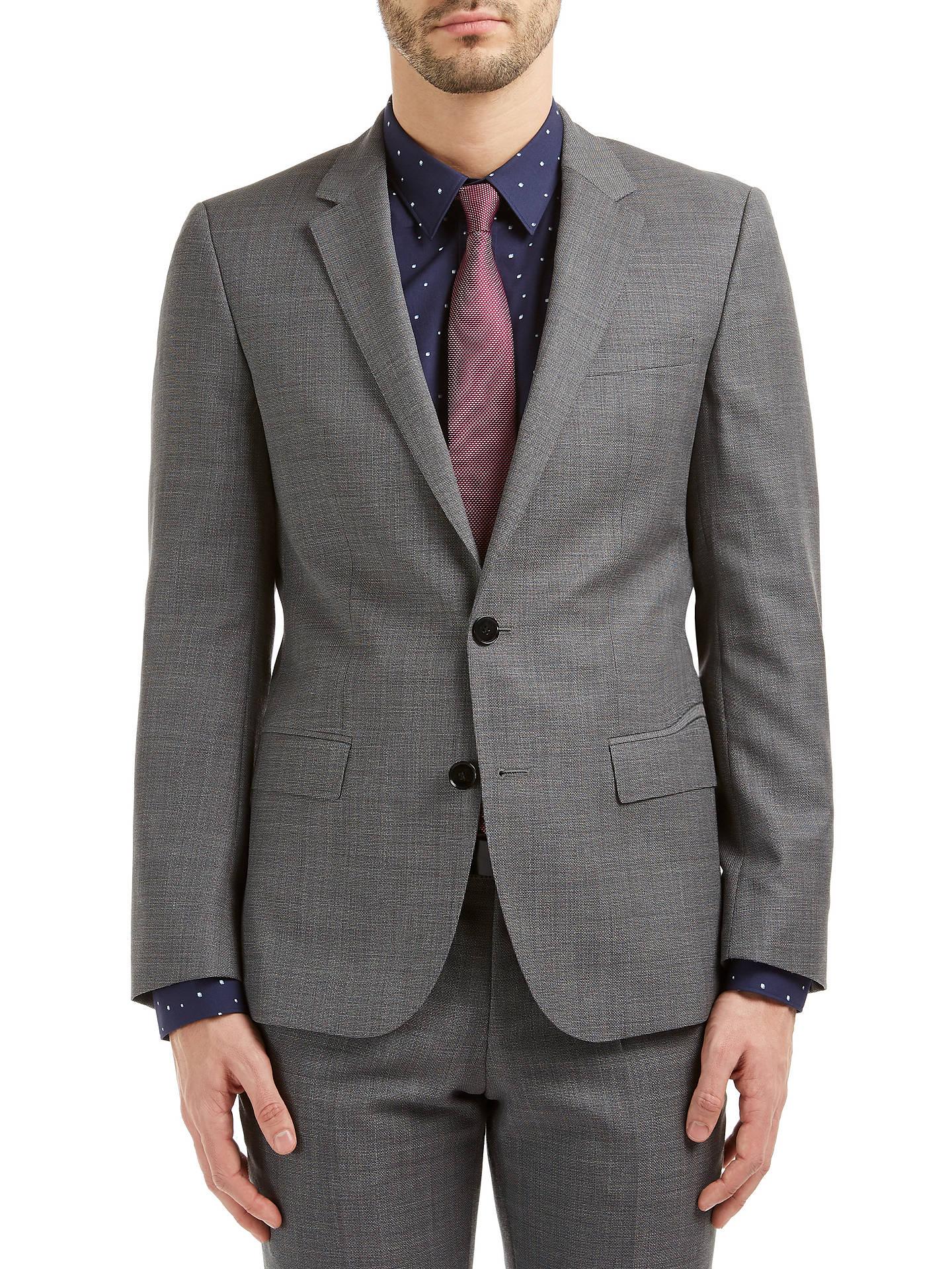 87ab857cc Buy HUGO by Hugo Boss C-Huge1 Hopsack Slim Fit Suit Jacket, Medium Grey ...