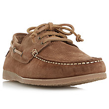 Buy Bertie Beach House Suede Shoes, Tan Online at johnlewis.com