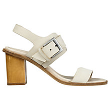 Buy Jigsaw Britta Block Heeled Sandals Online at johnlewis.com