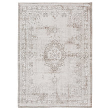 Buy Louis de Poortere Medallion Rug, Grey Online at johnlewis.com