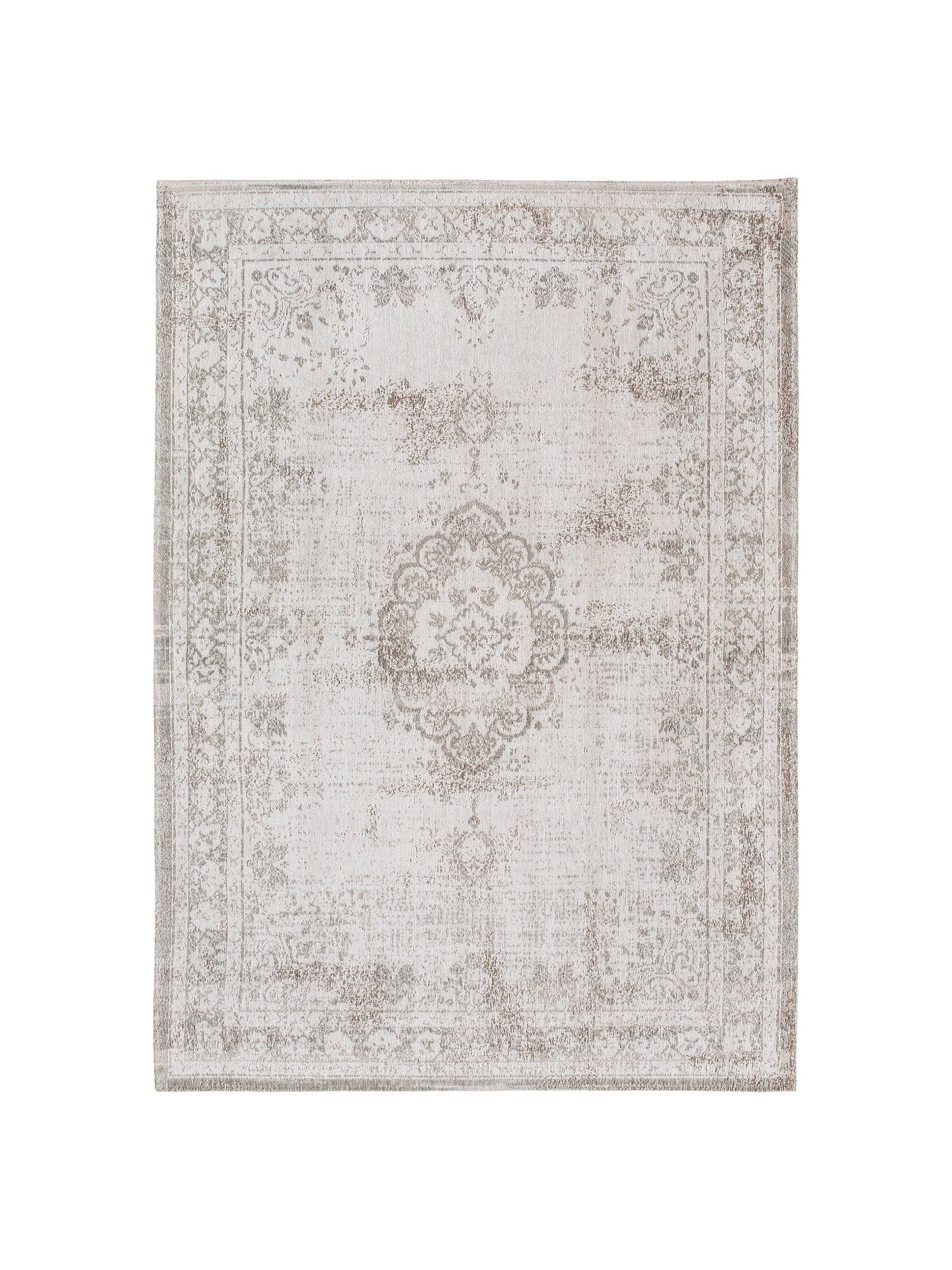 Louis De Poortere Medallion Rug Grey At John Lewis Partners