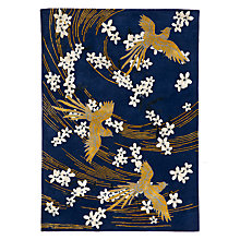 Buy Wendy Morrison for John Lewis Phoenix Blossom Rug, Yellow Online at johnlewis.com