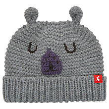 Buy Baby Joule Chummy Hat, Grey Marl Online at johnlewis.com