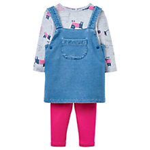 Buy Baby Joules Pami Denim Porefore Outfit, Denim Online at johnlewis.com
