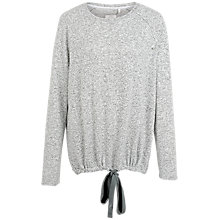 Buy Fat Face Weston Tie Top, Grey Marl Online at johnlewis.com