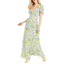 Buy Oasis Summer Blossom Maxi Dress, Multi Online at johnlewis.com