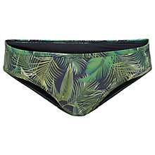 Buy Fat Face Tropical Sporty Bikini Bottoms, Navy Online at johnlewis.com