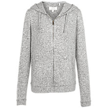 Buy Fat Face Weston Zip Through Hoodie, Grey Marl Online at johnlewis.com