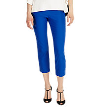 Buy Phase Eight Halle Cropped Trousers, Persian Blue Online at johnlewis.com