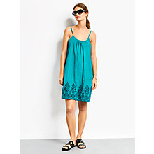 Buy hush Santorini Dress, Turquoise Online at johnlewis.com