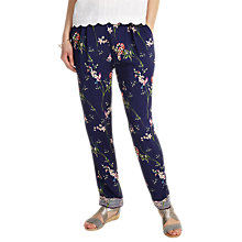 Buy Phase Eight Hummingbird Print Soft Trousers, Multi Online at johnlewis.com