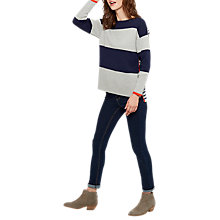 Buy Joules Uma Long Sleeve Milano Stripe Jumper Online at johnlewis.com