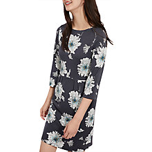 Buy Joules Beth Print Ponte Dress, Grey Peony Online at johnlewis.com