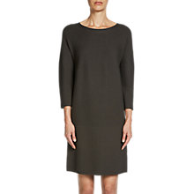 Buy Oui Knitted Dress, Khaki Online at johnlewis.com