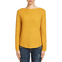Buy Oui Waffle Knit Jumper Online at johnlewis.com