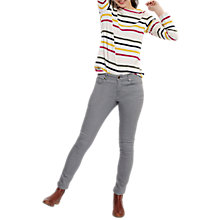 Buy Joules Monroe Skinny Jeans, Washed Grey Online at johnlewis.com