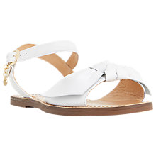 Buy Dune Lettie Bow Flat Sandals Online at johnlewis.com
