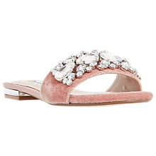 Buy Dune Novella Jewelled Slider Sandals Online at johnlewis.com