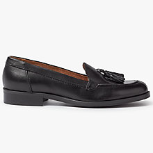 Buy John Lewis Gala Tassel Loafers, Black Online at johnlewis.com