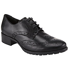 Buy John Lewis Fenton Block Heeled Brogues Online at johnlewis.com