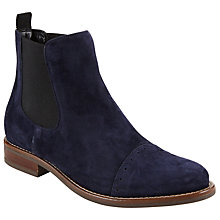 Buy John Lewis Orna Ankle Chelsea Boots, Navy Online at johnlewis.com